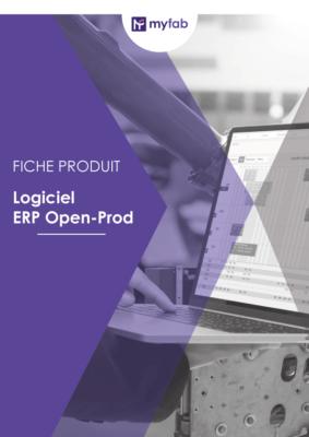 ERP Open prod fiche produit