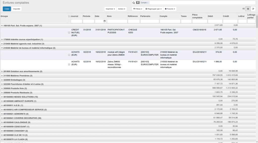 Gestion de la comptabilité par logiciel ERP