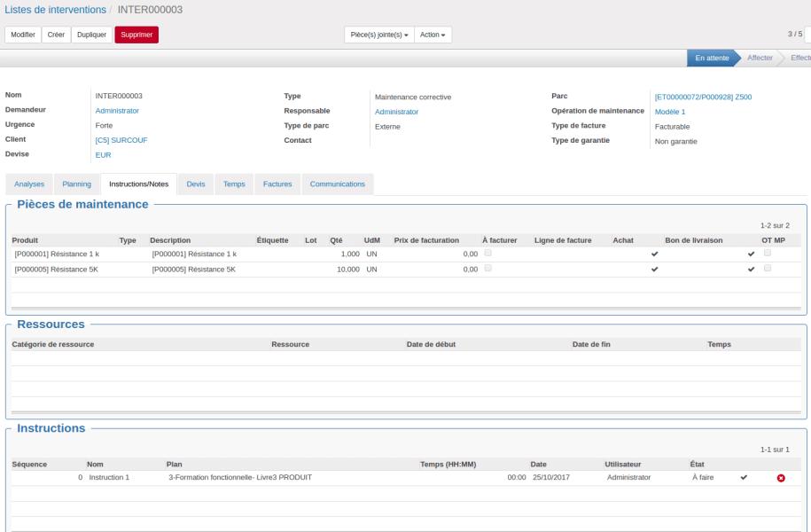 SAV ERP logiciel industriel de gestion